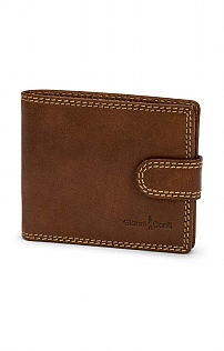 Leather Tabbed Wallet