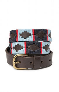 Pioneros Narrow Brown Polo Belt