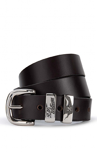 "RM Williams 3 Piece 1 1/4"" Leather Belt 2"