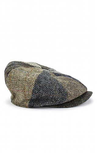 Failsworth Harris Tweed 8 Piece Cap