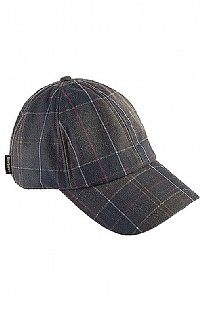 Barbour  Tartan Waxed Sports Cap