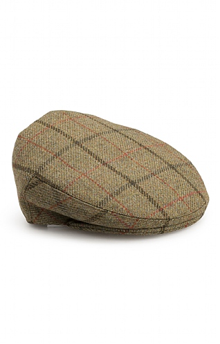 Heavyweight Tweed Hereford Cap