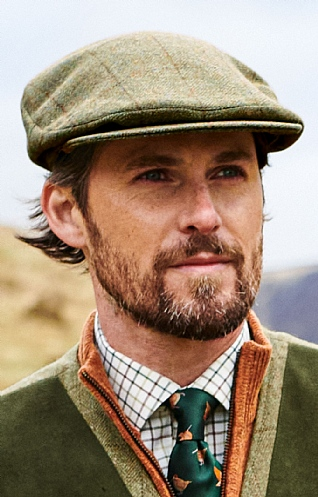 Men's Tweed Bond Cap