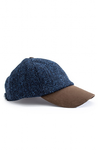 Failsworth Harris Tweed Baseball Cap