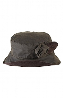 Ladies Barbour Valerie Tartan Hat