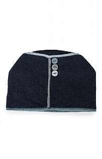 Wool Button Hat
