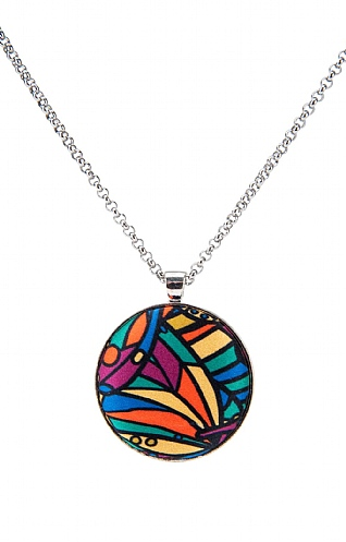 Liberty Silk Pendant