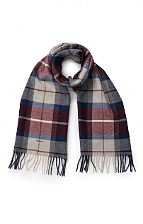 Gant Check Lambswool Scarf
