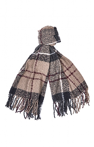 Barbour Boucle Scarf