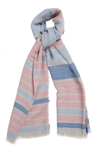 Barbour Freya Stripe Wrap
