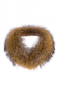 Ladies Fox Fur Collar