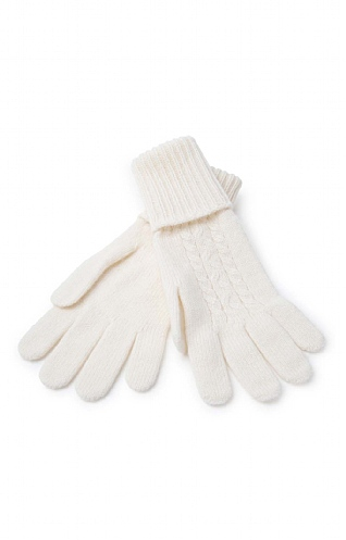 Johnstons Of Elgin Cashmere Cable Gloves