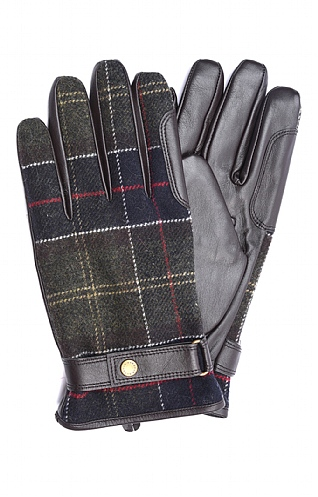 Men's Barbour Newbrough Tartan Glove