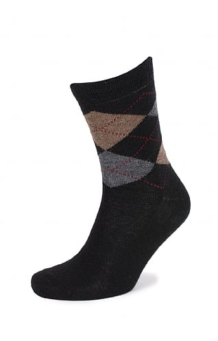 Mens Argyle Standard Length Socks