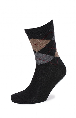 Men's Argyle Standard Length Socks