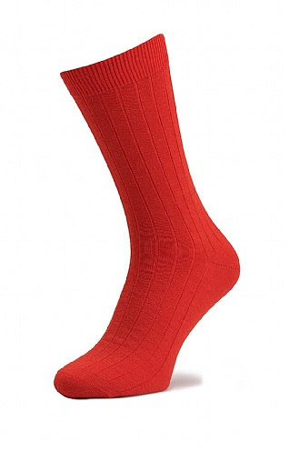 Men's Plain Standard Length Socks