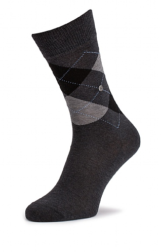 Men's Argyle Manchester Socks