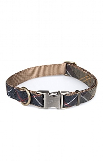 Barbour Tartan/Webbing Dog Collar