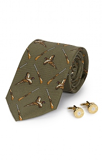 Country Cufflink & Tie Set