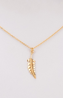 Small Fern Pendant Necklace