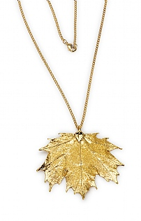 Canadian Maple Necklace