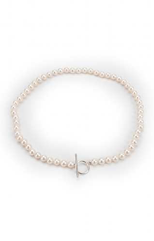 Pearls of the Orient Single Strand Pearl Necklace