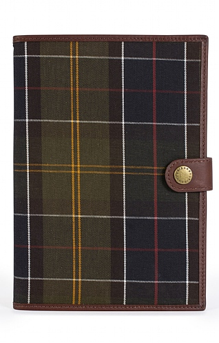 Barbour Tartan Notebook & Cover