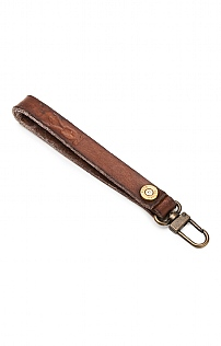 Bullet/Leather Lanyard