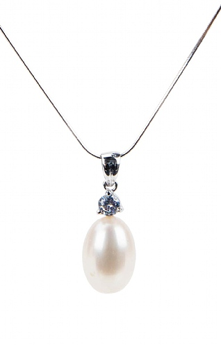 Pearls of the Orient Pearl Tear Drop Necklace