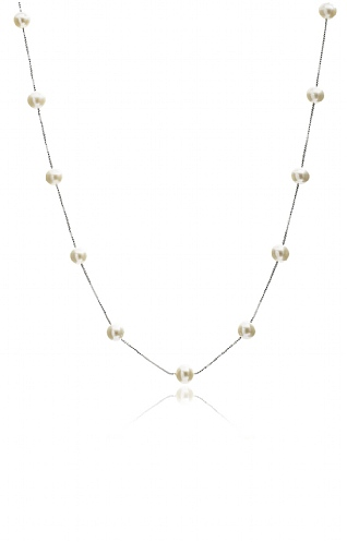 Pearls of the Orient Round Pearl Necklace