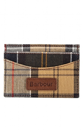 Barbour Tartan Card Holder