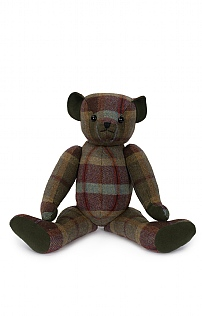 22 Inch Tweed Bear