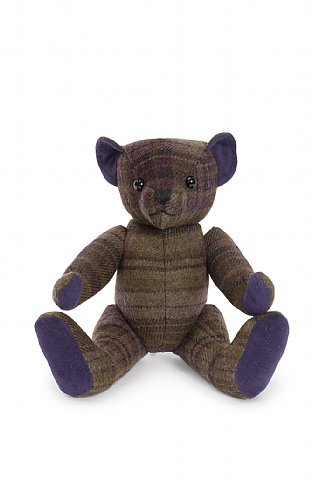 14 Inch Tweed Bear