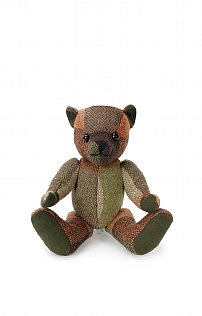 10 Inch Tweed Bear
