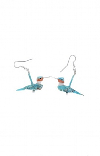 Brave Designs Bird Earrings