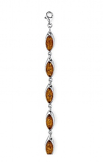 Amber Hall Linked Bracelet