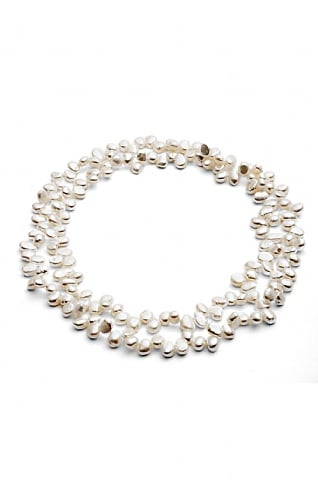 Pearls of the Orient Single Strand Loop Pearl Necklace