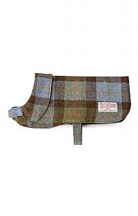 Harris Tweed Dog Coat - House of Bruar
