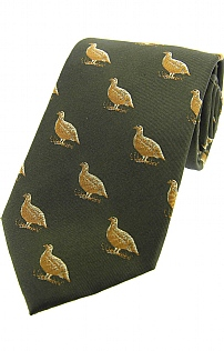 Grouse Silk Tie