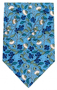 Mens Medieval Flowers Design Tie