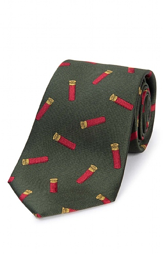Cartridge Woven Silk Tie