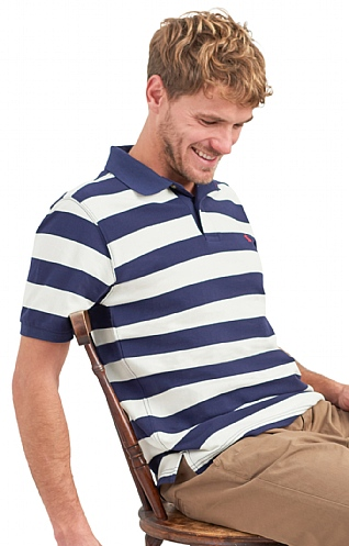 Filbert Stripe Polo