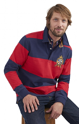 Joules Harlington Stripe Rugby Shirt