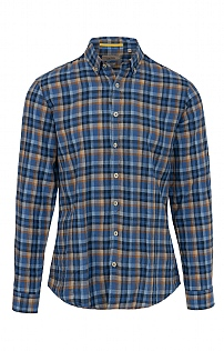 Camel Active Check Linen Shirt