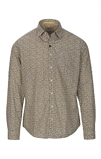 Camel Active Cotton Long Sleeve Floral Shirt