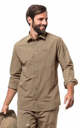 Jack Wolfskin Lakeside Roll-Up Shirt