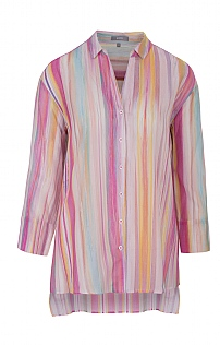 Erfo Fine Striped Overshirt