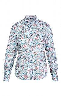 Erfo Long Sleeve Floral Mini