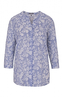 Erfo Cut Out Print Tunic