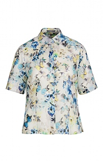 Erfo Short Sleeve Butterfly Shirt
